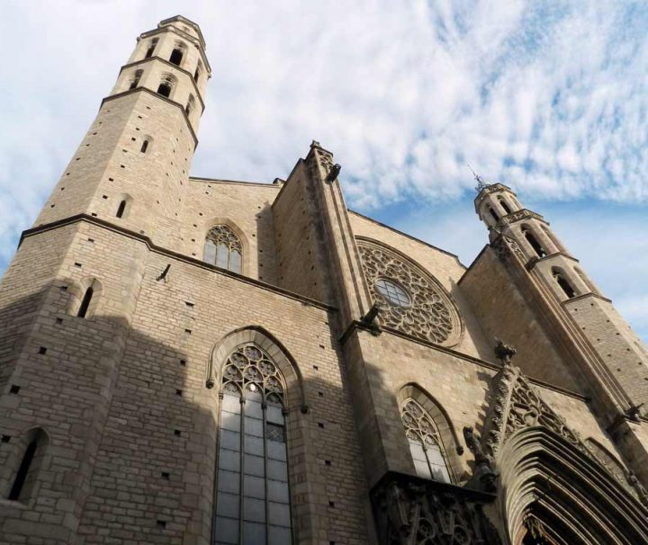 barcelona historical and cultural tour Cathedral of the sea main facade Gothic Quarter