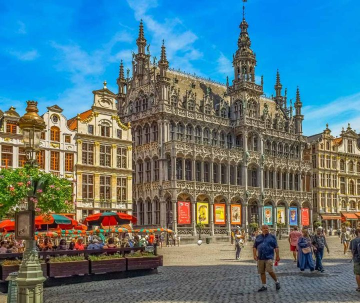 visita guidata di bruxelles la grand'place